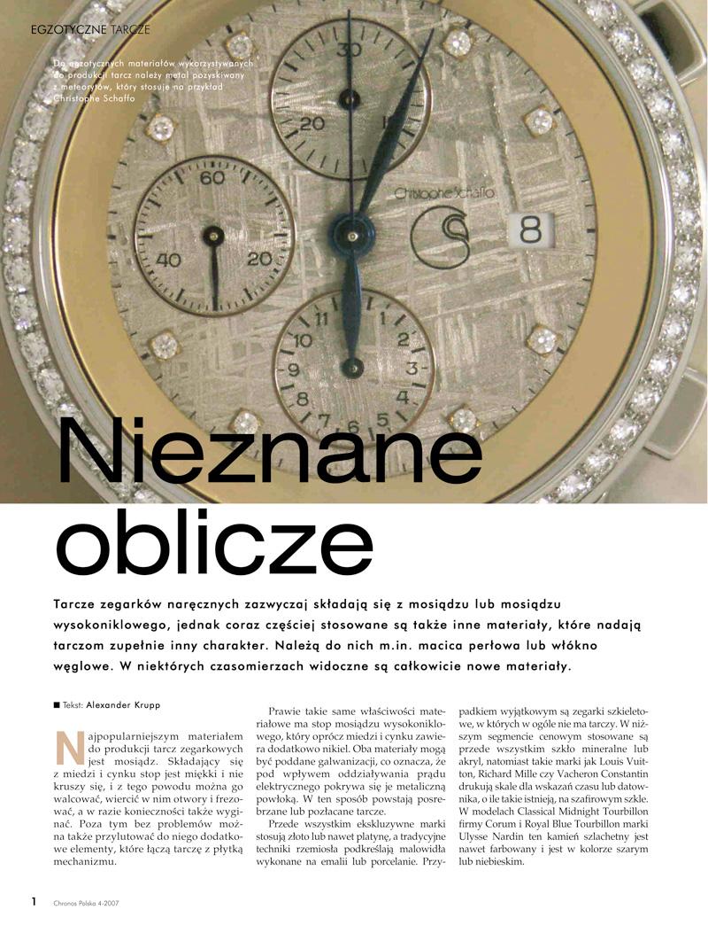CH4_07 Egzotyczne zegarki