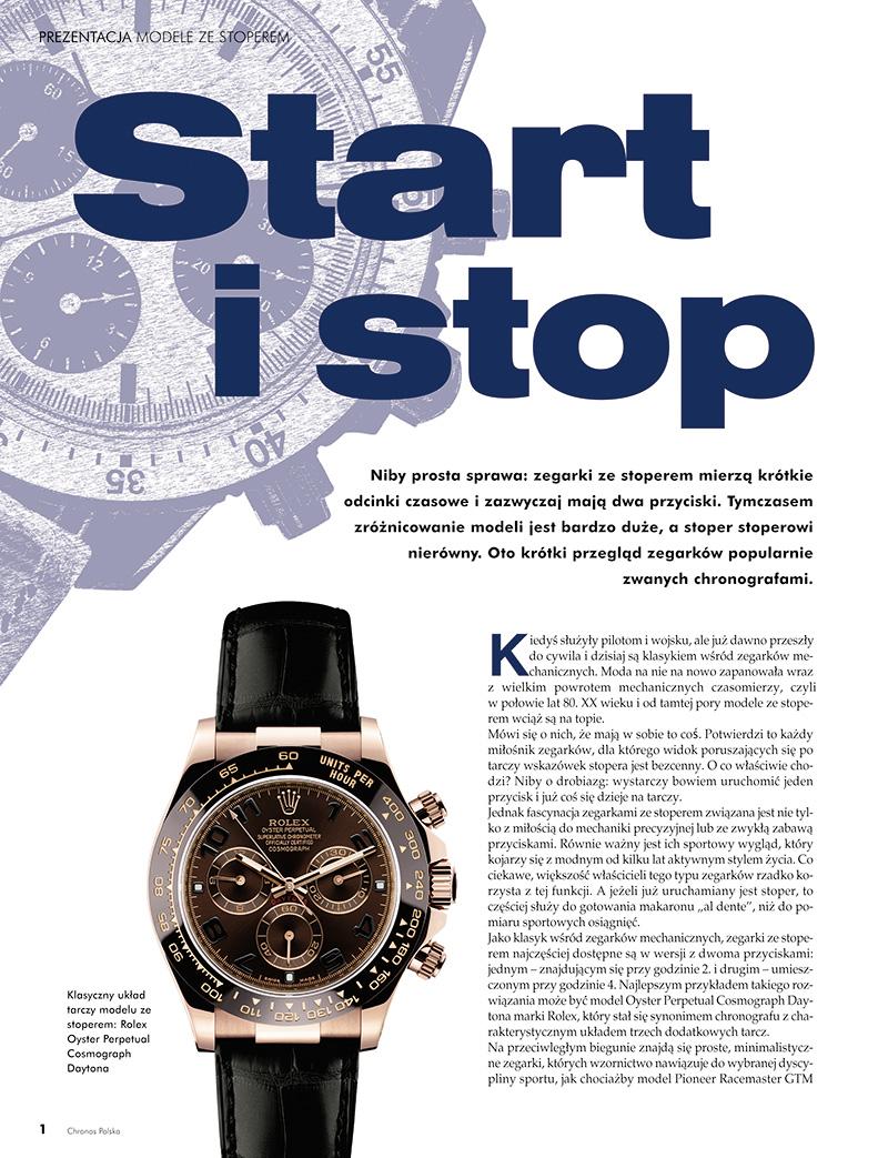 Prezentacja Modele ze stoperem (Chronos 2/2013, str. 16-25)