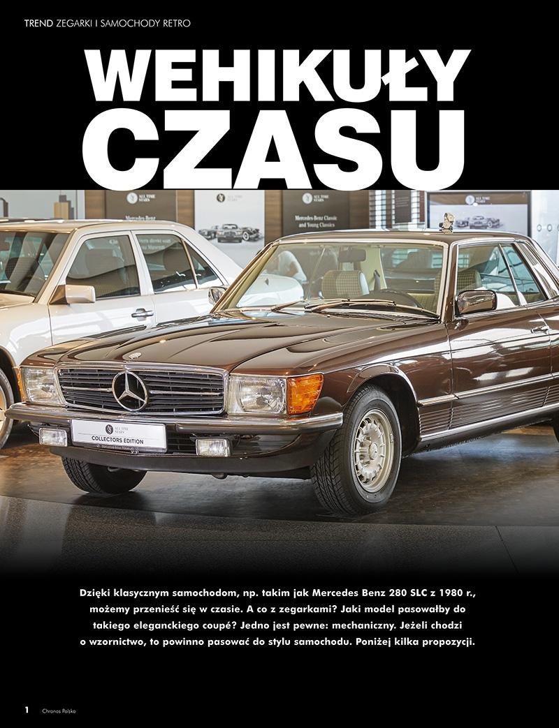 Zegarki i samochody retro (Chronos 2/2016, str. 28-33)